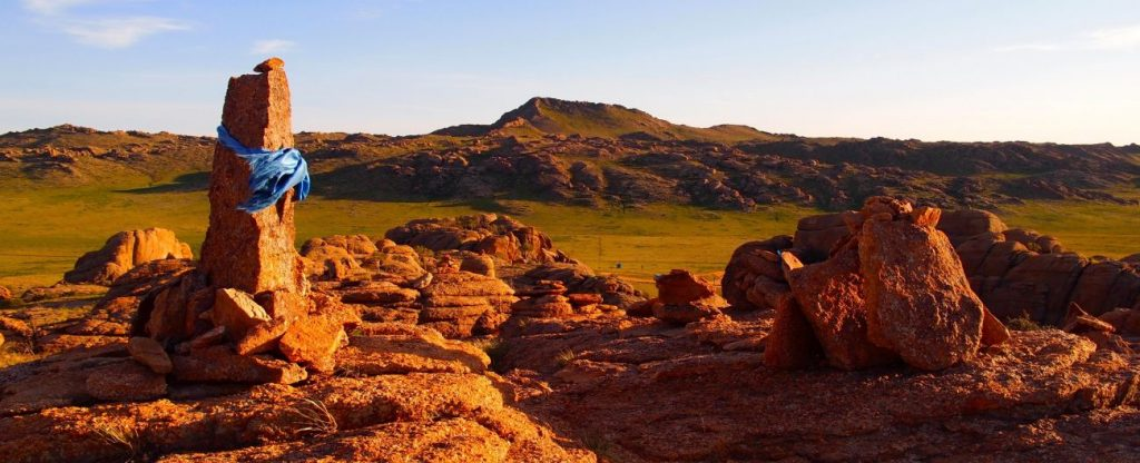 Massif granitique d'Ik Gazaryn Chuluu