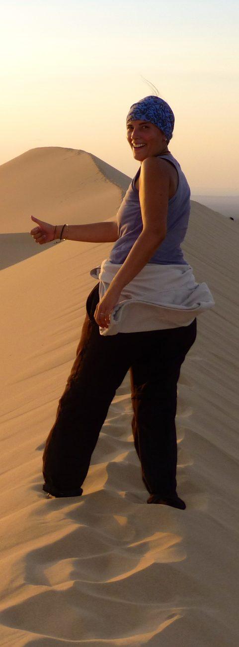 En trek au dune du Gobi