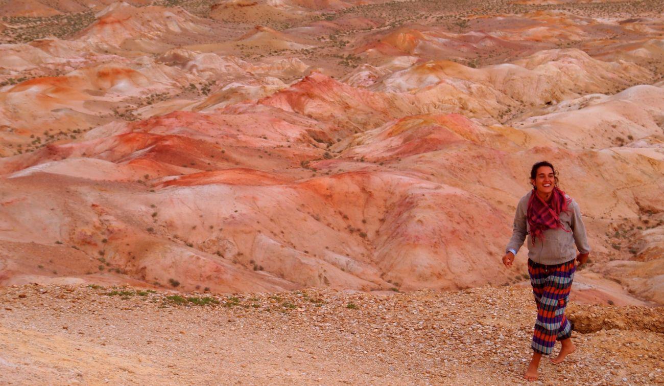 Trek dans le Gobi Tsagaan Suvarga Mongolie