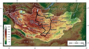 20 jours Gobi Khangai Khovsgol Mongolie