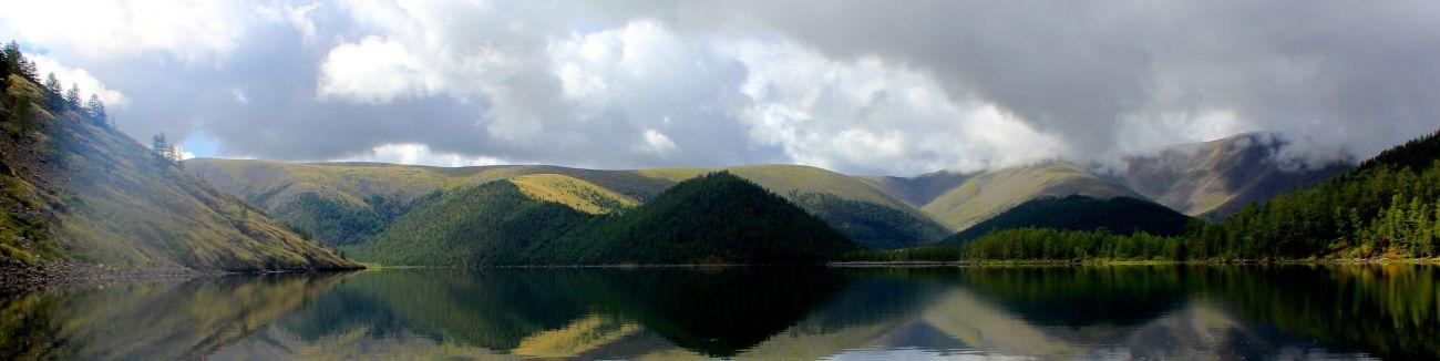 8 lacs ou caldeira Naiman Nuur à 2400 m
