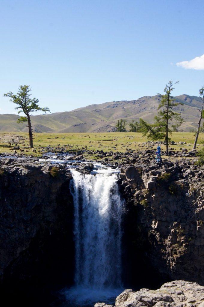 La chute de la vallée d'Orkhon
