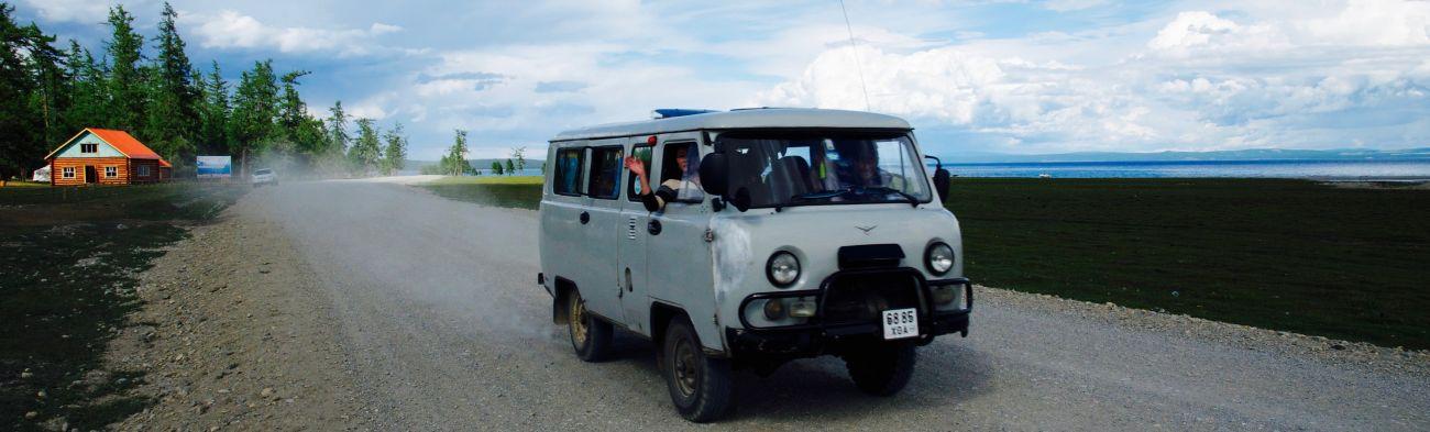 Piste 4X4 Khovsgol Mongolie
