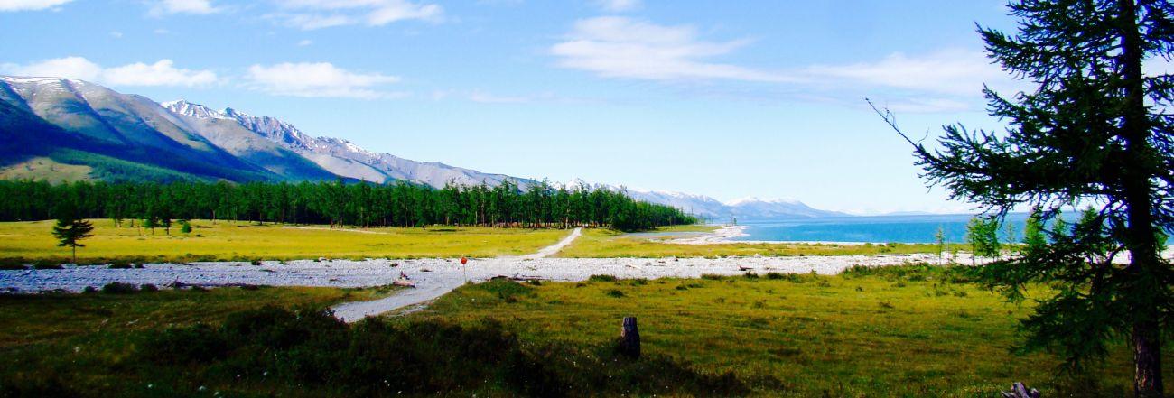 Rive Ouest lac Khovsgol Mongolie