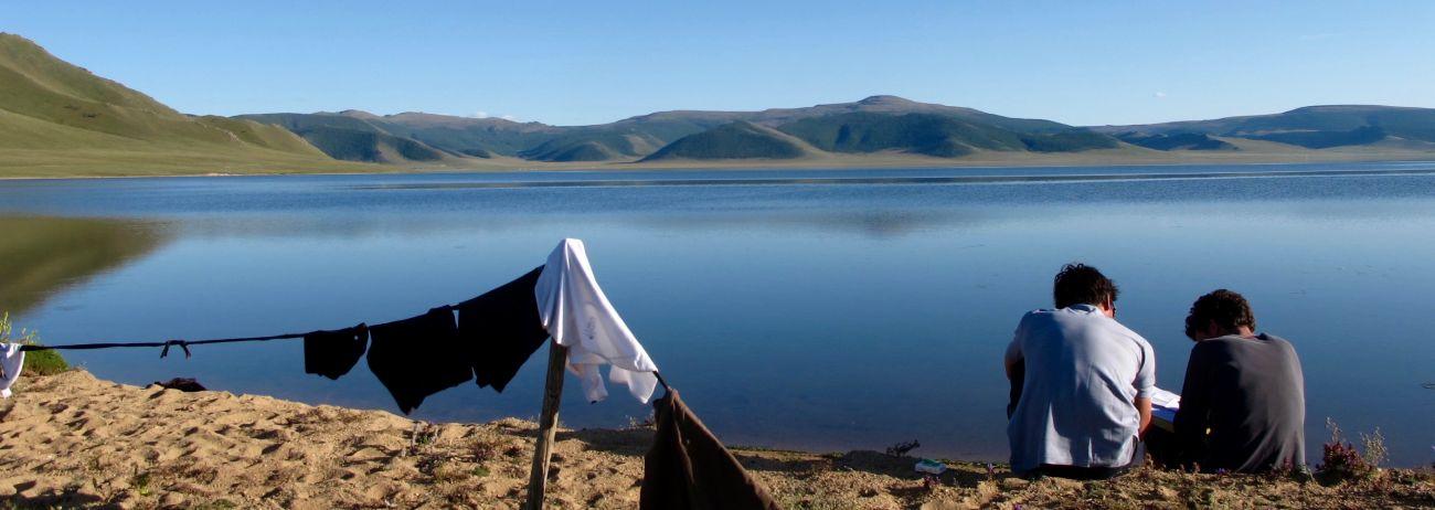 Rive lac Blanc, Terkhiin Tsagaan Nuur Mongolie