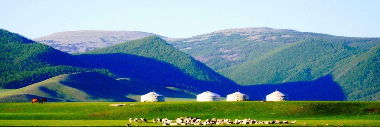 Yourte vallée d'Orkhon, Khangai Mongolie