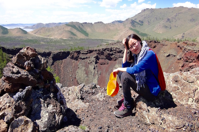 Ascension Khorgo Mongolie lac Terkhiin Tsagaan Nuur