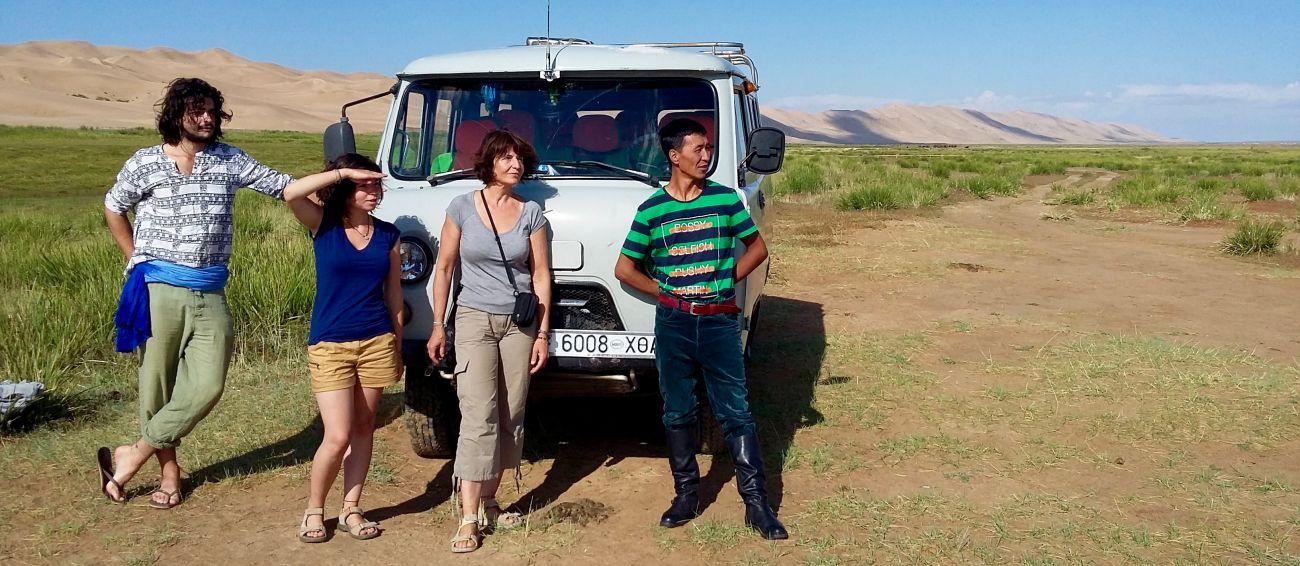 Dunes de Khongorin Els Gobi Mongolie