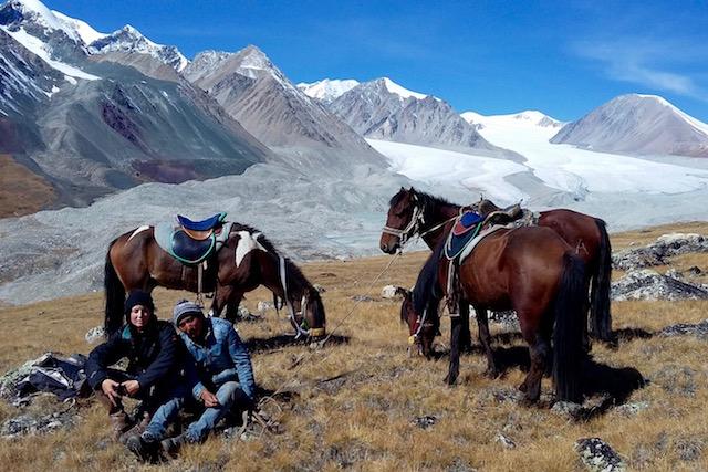 Glacier Potamine Mongolie Altai Tavan Bogd