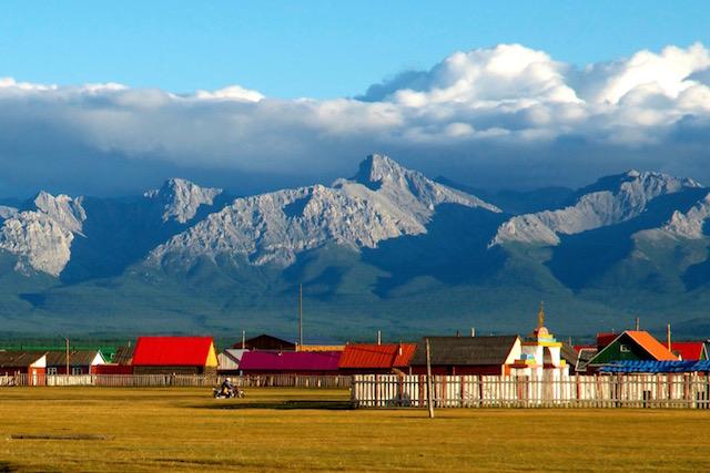 Les montagnes ouest du Khovsgol