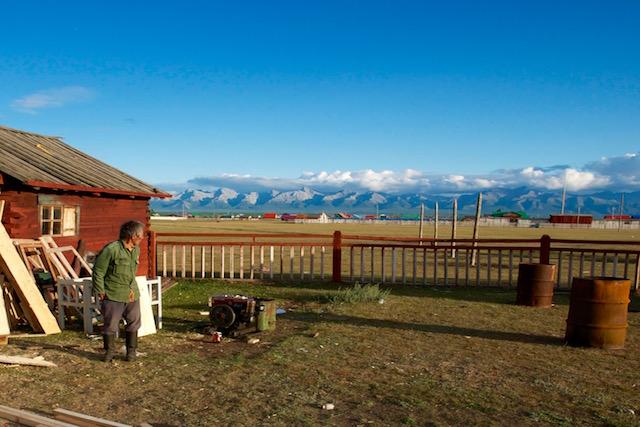 Montagnes ouest Khovsgol
