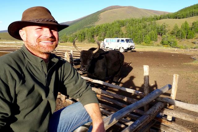 Trek 4X4 et cheval centre Mongolie Khangai