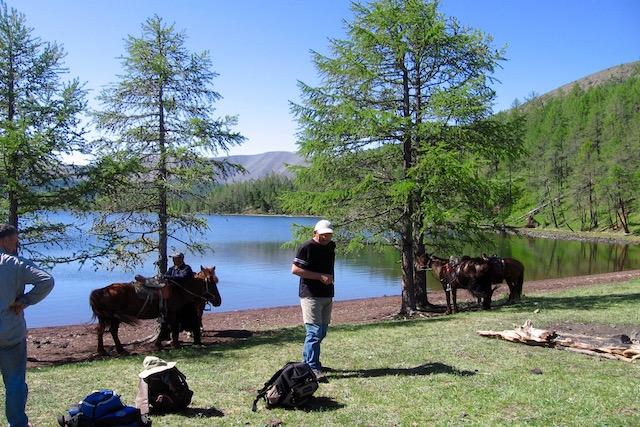 Trek à cheval 8 lacs Naiman Nuur