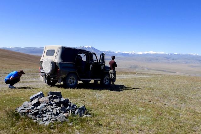 Trek en Altai Mongolie